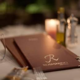 Rosmarino menu